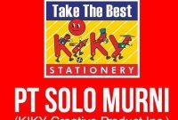 lowongan kerja PT Solo Murni (Kiky Creative Product Inc.)
